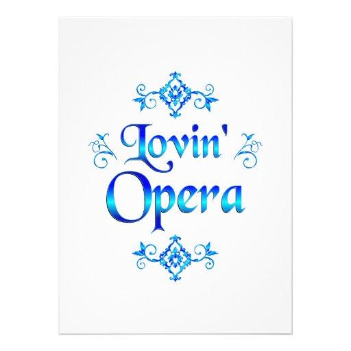 Lovin Opera Announcements