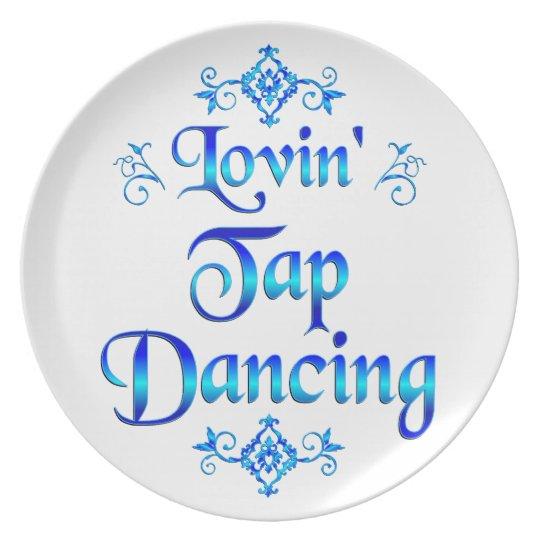 Lovin Tap Dancing Plate
