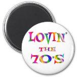 Lovin the 70s fridge magnets