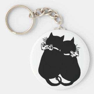 Loving Cats Key Ring