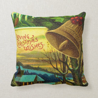 loving christmas wishes cushion