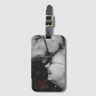 Loving couple, Feel their Love! Luggage Tag