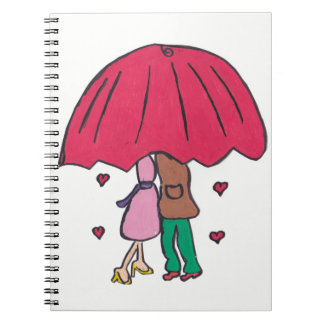 Loving Couple Notepad Notebook