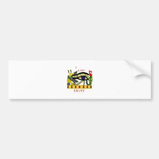 Loving Egypt Bumper Sticker