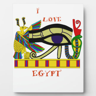 Loving Egypt Plaque