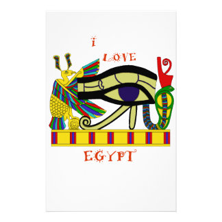 Loving Egypt Stationery