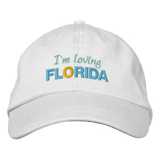 LOVING FLORIDA cap Embroidered Cap