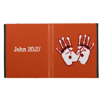Loving Hands - John 20:27 iPad Folio Cover