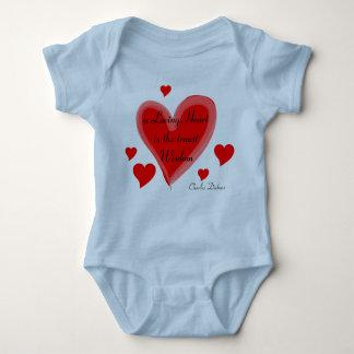 Loving heart infant onsie creeper