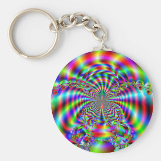 Loving in Color_Keychain Basic Round Button Key Ring