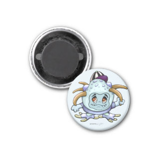 LOVING JONI PITTY ROUND MAGNET Small, 1¼ Inch