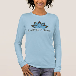 Loving Kindness Ladies Fitted Long Sleeve Tee