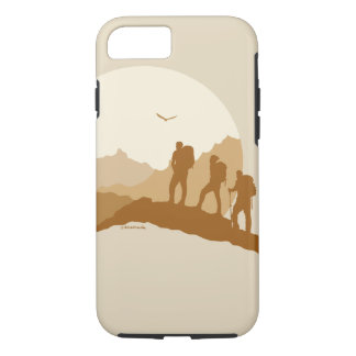 Loving Life Mountain Hiking Iphone 7/8 Tough Case
