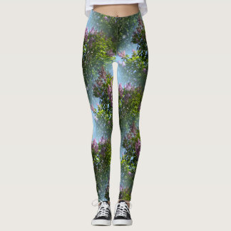 Loving Lilacs.... Leggings