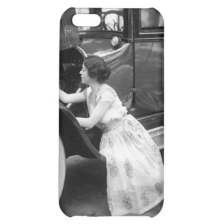 Loving My Old Car, 1920s Case For iPhone 5C