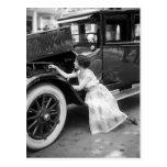 Loving My Old Car, 1920s Postcards