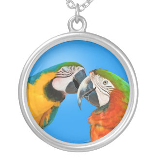 Loving Parrots Necklace