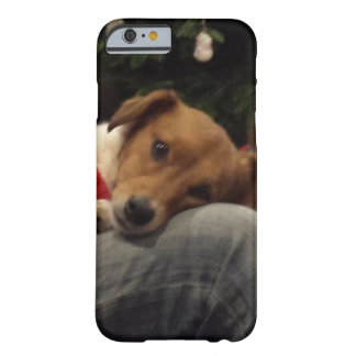 Loving Rescue Dog Ginger Barely There iPhone 6 Case