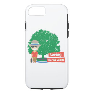 Loving Sierra Leone iPhone Tough Case
