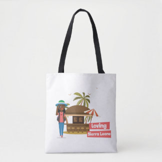Loving Sierra Leone Tote Bag