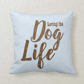 Loving the Dog Life Reversible Pillow