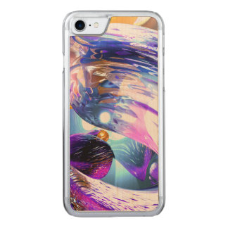 Loving Thoughts Abstract Carved iPhone 8/7 Case