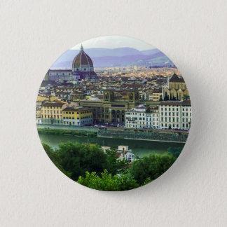Loving Tuscany! Photo Print 6 Cm Round Badge