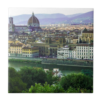 Loving Tuscany! Photo Print Ceramic Tile