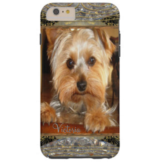 Loving Yorkies  6/6s or  Insert Your Own Photo Tough iPhone 6 Plus Case