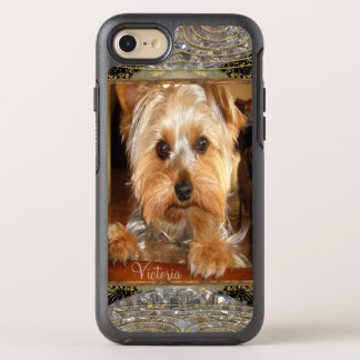 Loving Yorkies or Insert Your Own Photo OtterBox Symmetry iPhone 8/7 Case