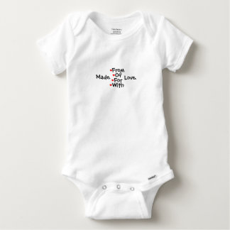 Lovingly Made Baby Onesie