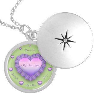 LovingMyThreeJays Locket Necklace
