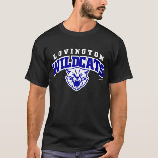 Lovington Wildcats Arched Lettering T-Shirt