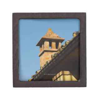 Low angle view of a chimney on a roof, San Premium Jewelry Boxes