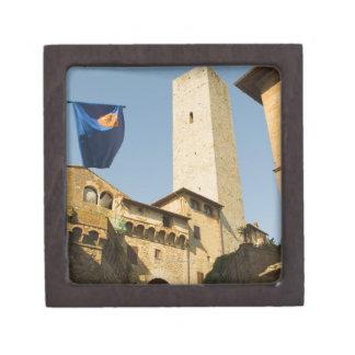 Low angle view of a tower, Torri Di San Premium Keepsake Boxes