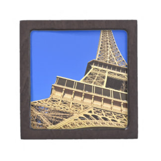Low angle view of Eiffel Tower against blue sky 2 Premium Gift Boxes