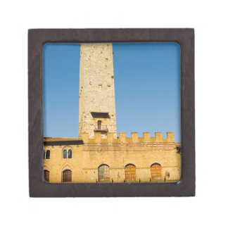Low angle view of tower of a building, premium keepsake box