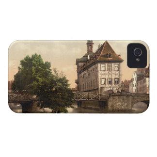 Low Bridge and Rathaus Bamberg Bavaria Germany Case-Mate iPhone 4 Case