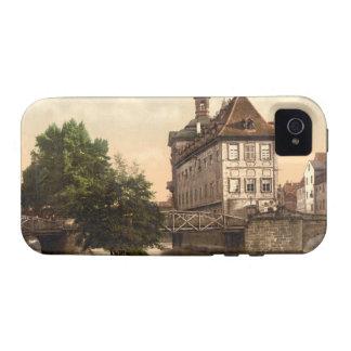 Low Bridge and Rathaus Bamberg Bavaria Germany Vibe iPhone 4 Cover