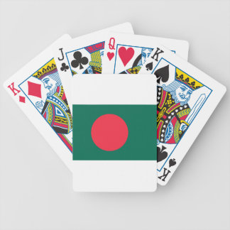 Low Cost! Bangladesh Flag Bicycle Playing Cards
