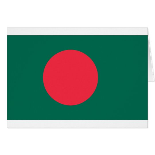 Low Cost! Bangladesh Flag Card