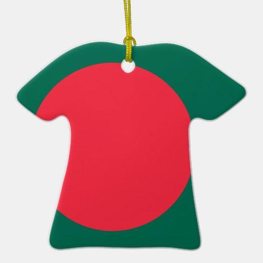 Low Cost! Bangladesh Flag Ceramic T-Shirt Decoration