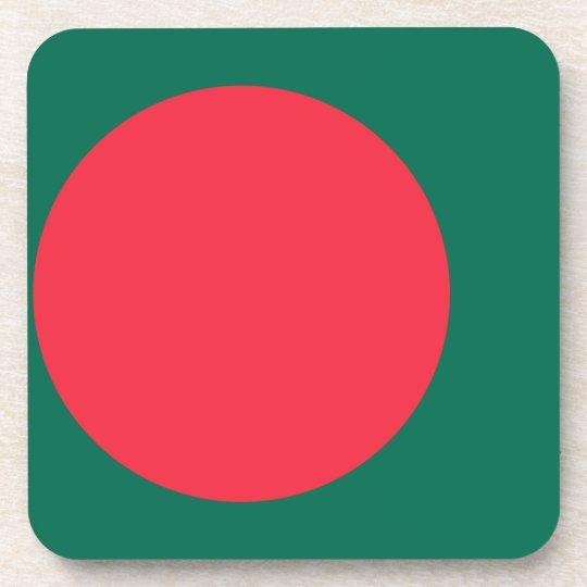 Low Cost! Bangladesh Flag Coaster