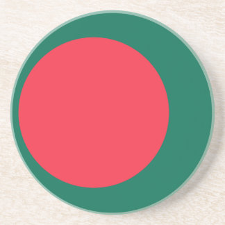 Low Cost! Bangladesh Flag Coaster