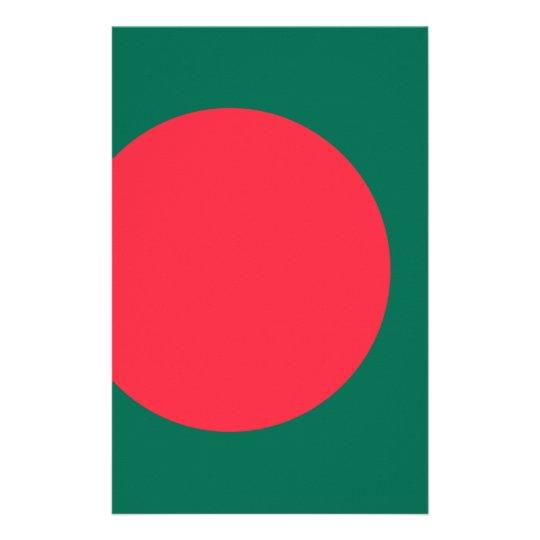 Low Cost! Bangladesh Flag Custom Stationery
