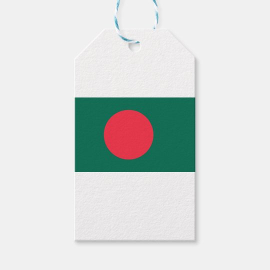 Low Cost! Bangladesh Flag Gift Tags