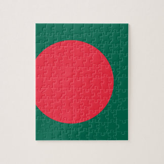 Low Cost! Bangladesh Flag Jigsaw Puzzle