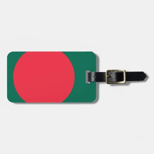 Low Cost! Bangladesh Flag Luggage Tag