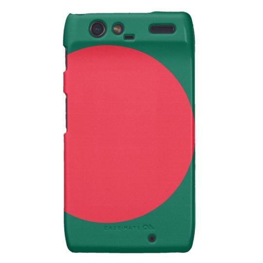 Low Cost! Bangladesh Flag Motorola Droid RAZR Case