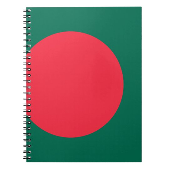 Low Cost! Bangladesh Flag Notebooks